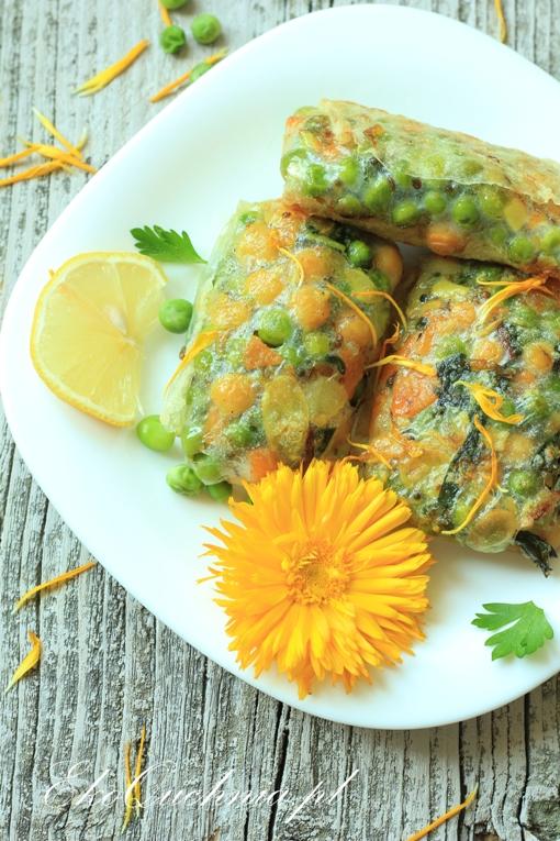 Letnie spring rollsy z warzywami
